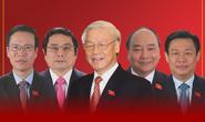 Chân dung các Ủy viên Bộ Chính trị và Ban Bí thư khóa XIII