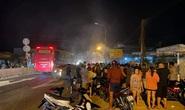 Xe máy bốc cháy, nạn nhân lìa chân sau tai nạn với ôtô