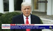 Tổng thống Trump lên tiếng sau khi Quốc hội Mỹ công nhận ông Biden