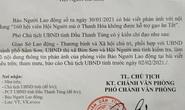 Vụ 160 người mù ở Thanh Hóa không được hỗ trợ gạo ăn Tết: Yêu cầu kiểm tra, xử lý