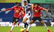 Trọng tài giải cứu chủ nhà, Man United mất điểm cay đắng trước West Brom