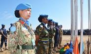 Ngày xuân, nữ sĩ quan kể chuyện tham gia lực lượng mũ nồi xanh