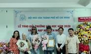 Hội Nhà văn TP HCM trao giải thưởng văn học 2020