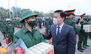 Bí thư, Chủ tịch Thanh Hóa tiễn gần 4 ngàn tân binh nhập ngũ