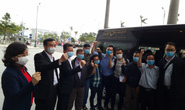 Phó Giám đốc Sở Y tế Đà Nẵng cùng 7 y bác sĩ lên đường đến Gia Lai hỗ trợ truy vết Covid-19