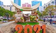Đường hoa Nguyễn Huệ Tết Tân Sửu 2021 lộ diện trước ngày khai mạc