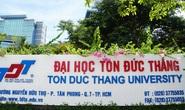 Bộ GD-ĐT báo cáo Phó Thủ tướng về Trường ĐH Tôn Đức Thắng
