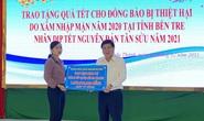 TP HCM tặng 1 tỉ đồng cho người dân bị hạn, mặn ở tỉnh Bến Tre