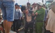 CLIP: Nam thanh niên nghi ngáo đá, chạy ô tô lạng lách, thách thức CSGT