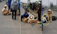 Vụ thông chốt, tông gãy chân, tay thượng úy CSGT: Khởi tố 2 thiếu niên