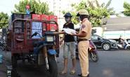 """CSGT TP HCM đang tung quân """"truy tìm"""" xe tự chế"""