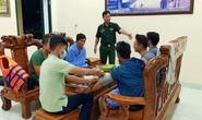 Tàu chở 1.500 tấn tro nhiệt điện Vĩnh Tân cùng 7 thủy thủ chìm trên biển Bình Thuận