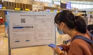 Đi máy bay chưa khai báo y tế điện tử sẽ bị từ chối soi chiếu an ninh