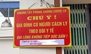 Treo biển trước cửa nhà người về từ TP HCM, Đà Nẵng: Không bắt buộc