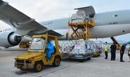 Thêm 397.800 liều vắc-xin Pfizer Mỹ viện trợ về đến Hà Nội