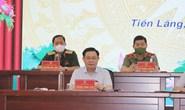 Chủ tịch Quốc hội Vương Đình Huệ tiếp xúc cử tri Hải Phòng