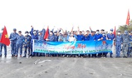 Cảnh sát biển cùng thanh niên Quảng Nam hành động vì môi trường