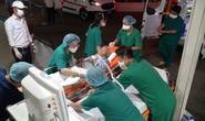 Cận cảnh tiếp nhận ca từng mắc covid-19 nặng nhất về miền Nam điều trị