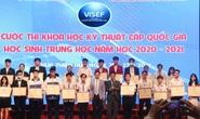 Cuộc thi Khoa học kỹ thuật cấp quốc gia: Dự án đoạt giải nhất trùng lặp với dự án đoạt giải trước đó