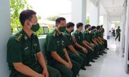 Tiêm vắc-xin Covid-19 cho cán bộ, chiến sĩ biên phòng Tây Ninh