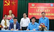 Hà Nội: Hợp tác chăm lo phúc lợi đoàn viên
