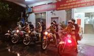 CSGT TP HCM đội mưa ra quân lúc 0 giờ!