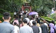 Cận cảnh thiết lập trận địa pháo hoa cho lễ Giỗ tổ Hùng Vương