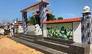 Công khai mua bán đất lâm nghiệp để xây mộ trái phép