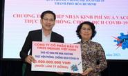 TP HCM tiếp nhận hơn 200 tỉ đồng ủng hộ mua vắc-xin phòng Covid-19