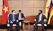 Thủ tướng Phạm Minh Chính hội kiến Quốc vương Brunei