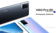 Smartphone X60 Pro 5G, camera ZEISS chống rung