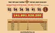 Vé Vietlott trúng 141,8 tỉ đồng bán tại TP HCM
