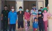 Phát hiện 8 đối tượng từ Campuchia nhập cảnh trái phép vào An Giang