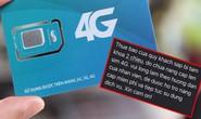 Cảnh báo nạn giả nhà mạng hướng dẫn nâng cấp sim 4G để lừa đảo
