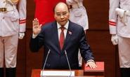 CLIP: Tân Chủ tịch nước Nguyễn Xuân Phúc tuyên thệ nhậm chức
