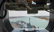 Nhóm tàu sân bay Mỹ lần đầu qua kênh đào Suez sau giải tỏa