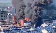Cháy trung tâm thương mại Trung Quốc, 4 người thiệt mạng