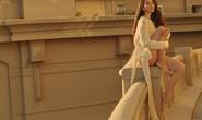 Kết thúc nhiệm kỳ, hoa hậu Trần Tiểu Vy gia nhập đội gái xinh hở bạo