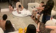 """5 cô gái cùng 4 nam thanh niên thuê biệt thự ở resort mở """"tiệc"""" ma túy"""