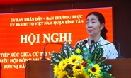 Cử tri quận Bình Tân mong muốn có giải pháp xử lý triệt để tín dụng đen, ngập nước