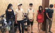 Bắt quả tang 5 thanh niên nam, nữ thuê nhà nghỉ làm chuyện mờ ám