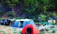 Du lịch cắm trại dã ngoại lên ngôi