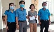 Thăm hỏi, tặng quà công nhân bị tai nạn lao động