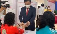 Cử tri Hà Nội náo nức đi bỏ phiếu bầu cử