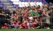 Atletico Madrid lên đỉnh La Liga