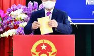 Thủ tướng Phạm Minh Chính hoàn thành bỏ phiếu bầu cử tại Cần Thơ