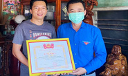 Trung ương Đoàn tặng bằng khen cho tài xế Bình Định đã có hành động đẹp