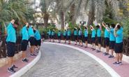 Đội tuyển Việt Nam sẵn sàng bước vào tập luyện tại UAE