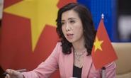 Bộ Ngoại giao lên tiếng về thông tin Trung Quốc tập trận bắn đạn thật ở Biển Đông