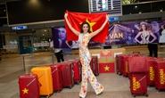 Hoa hậu Khánh Vân lên đường sang Mỹ chinh phục Miss Universe